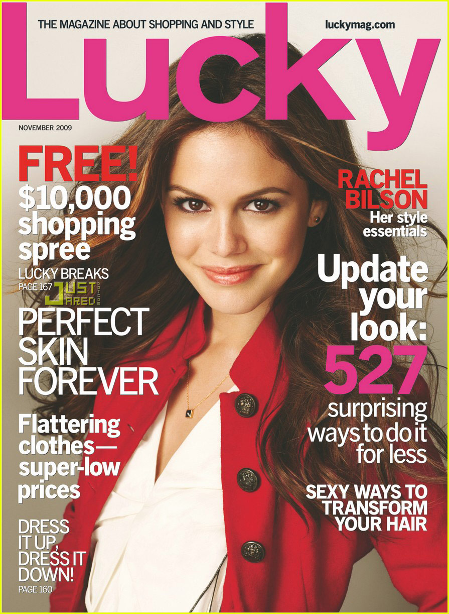 Rachel Bilson Covers 'Lucky' November 2009: Photo 2257942 ...