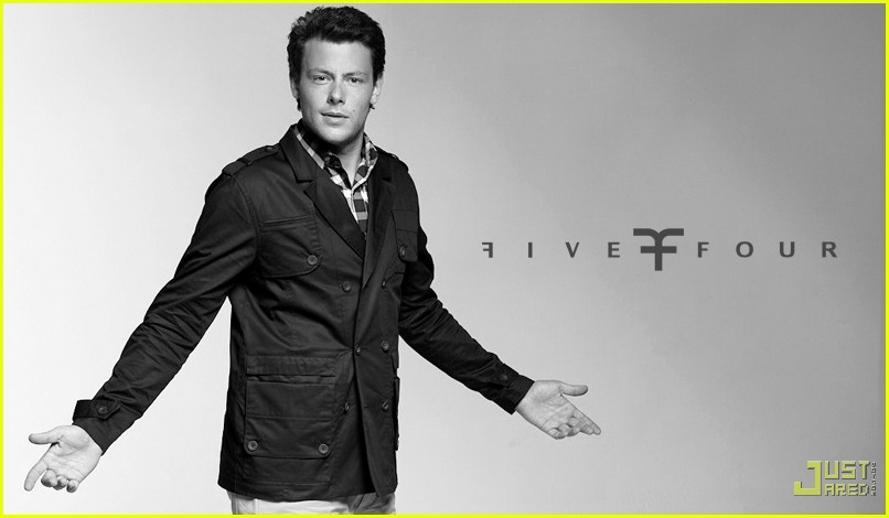 cory monteith five four ad campign 03