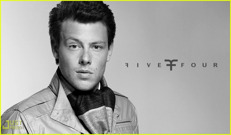 cory monteith five four ad campign 082291532