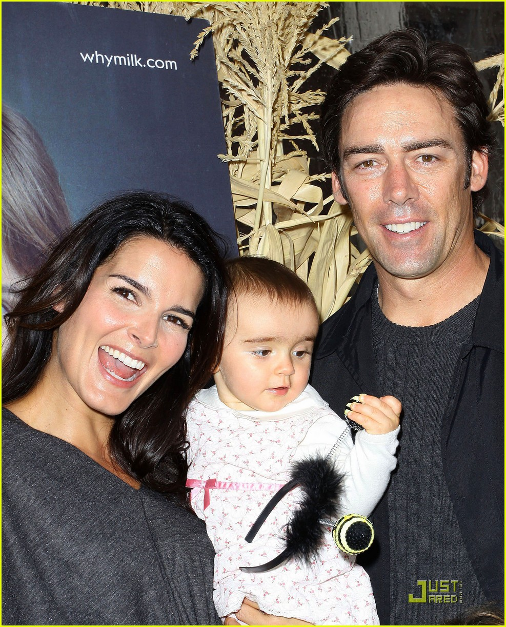 angie harmon celebrates chocolate milk 022285572