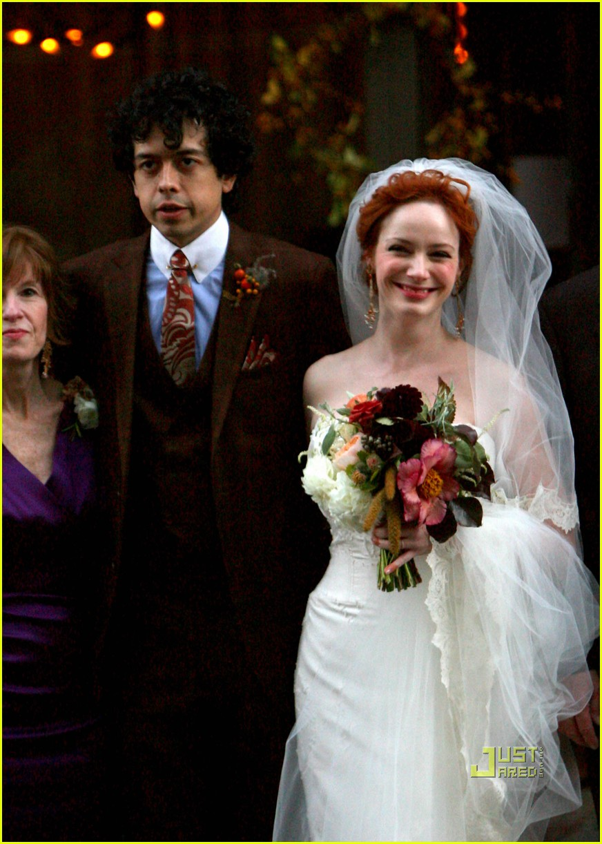 christina hendricks wedding pictures 04