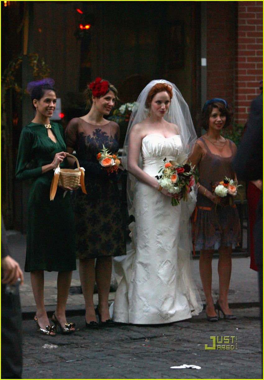 christina hendricks wedding pictures 06