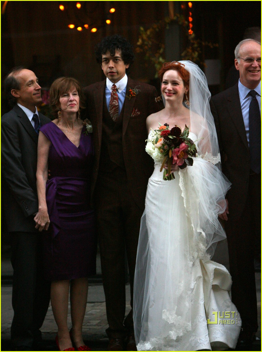 christina hendricks wedding pictures 07