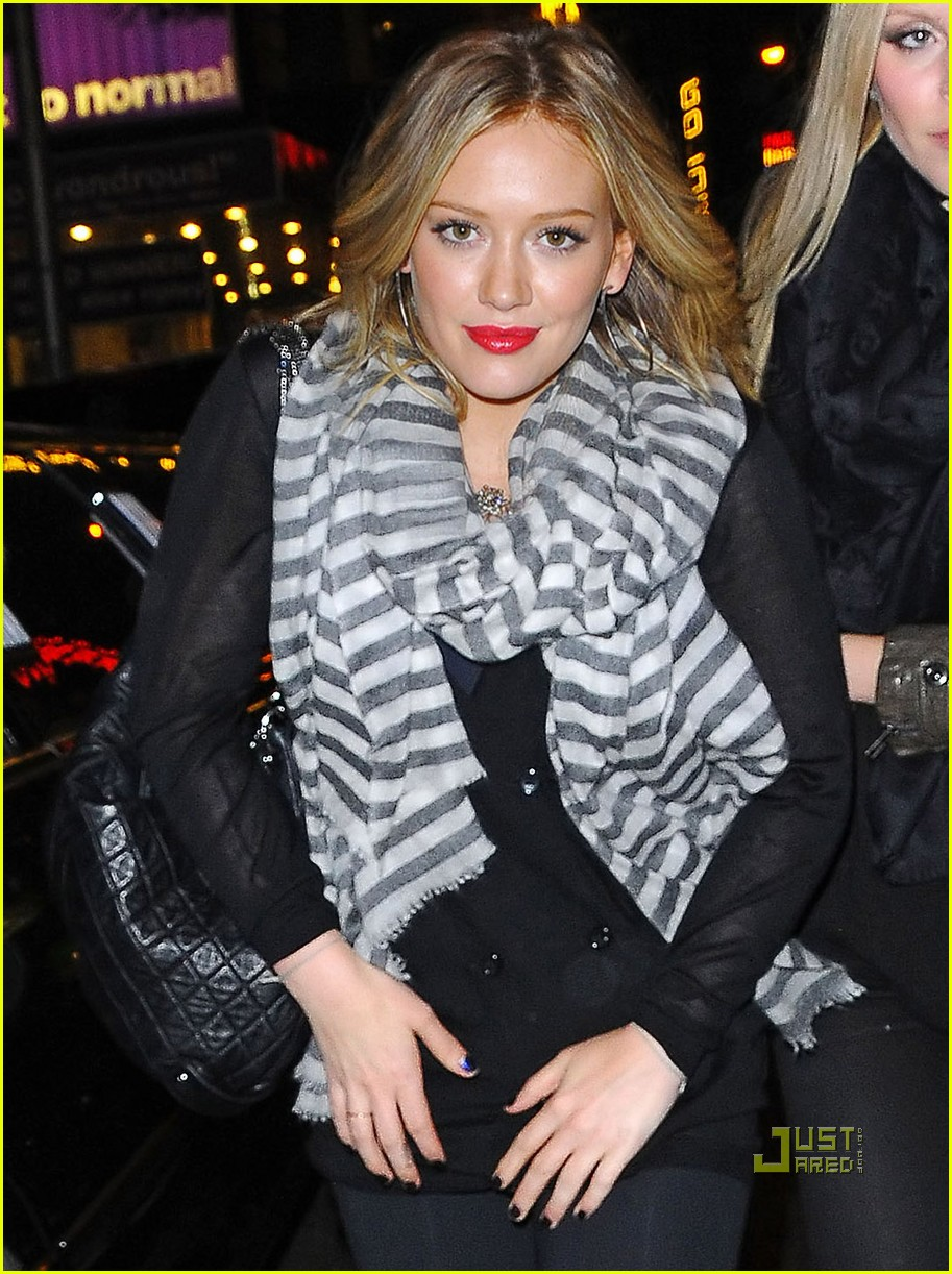 hilary duff leah miller steady rain 05