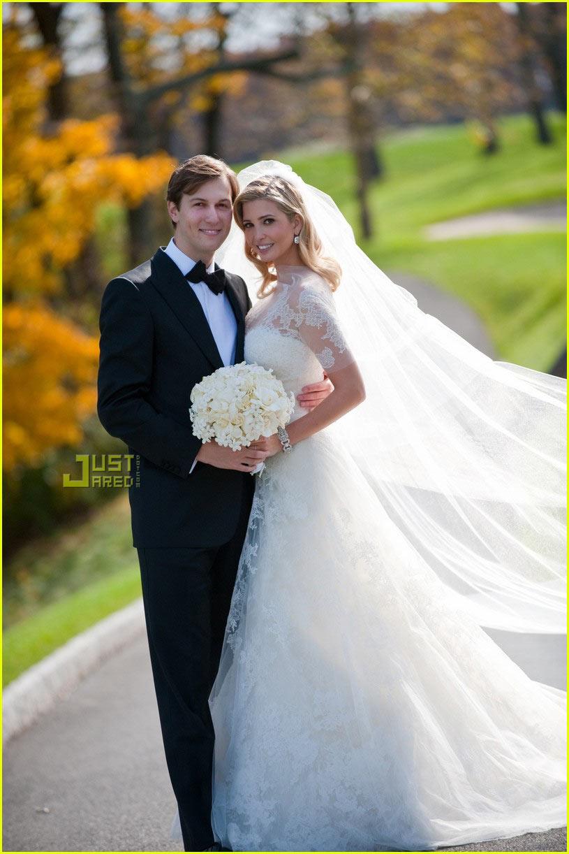 ivanka trump wedding pictures first look 032314091