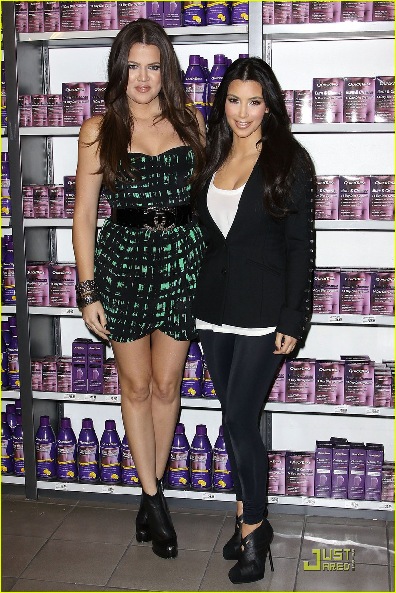 kim khloe kardashian queens of quicktrim 252290511