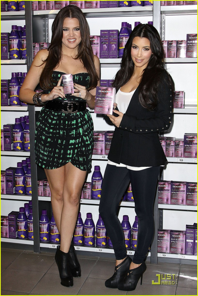 kim khloe kardashian queens of quicktrim 282290541