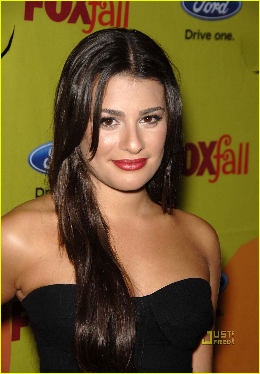 lea michele casino party 06