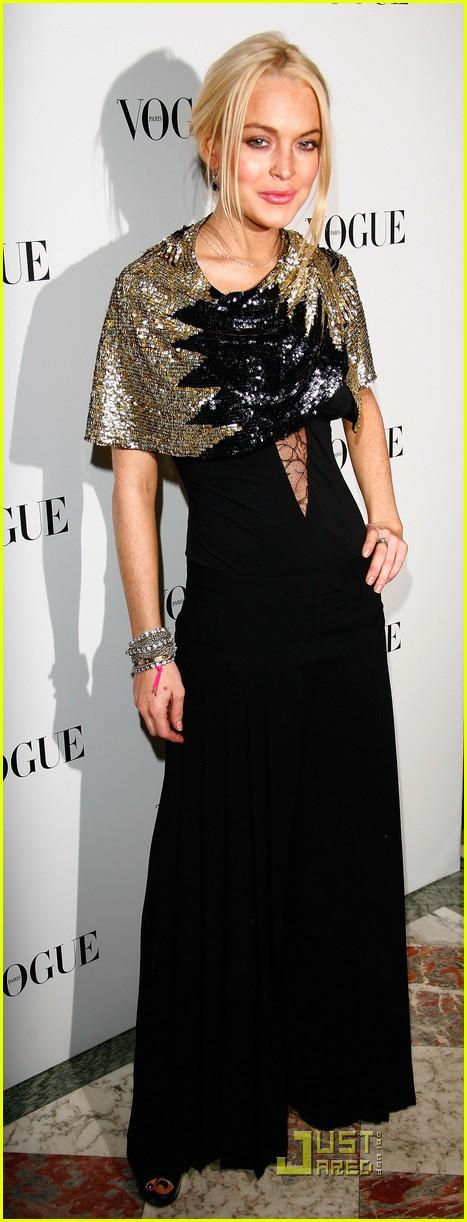 Lindsay Lohan Celebrat... Lindsay Lohan