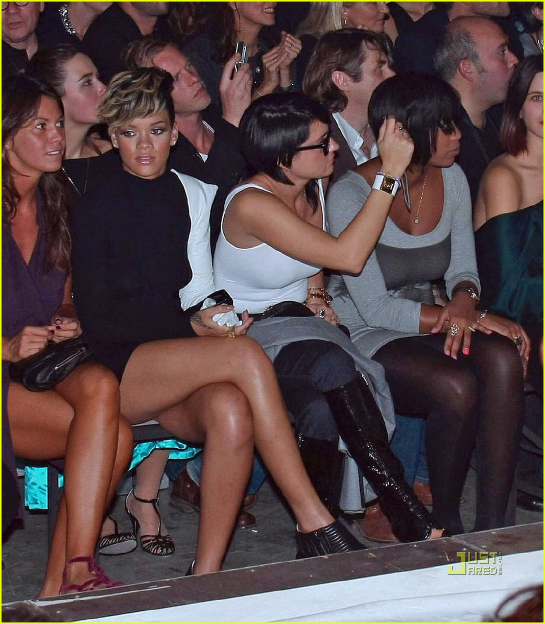 rihanna martin margiela paris fashion week 012261362