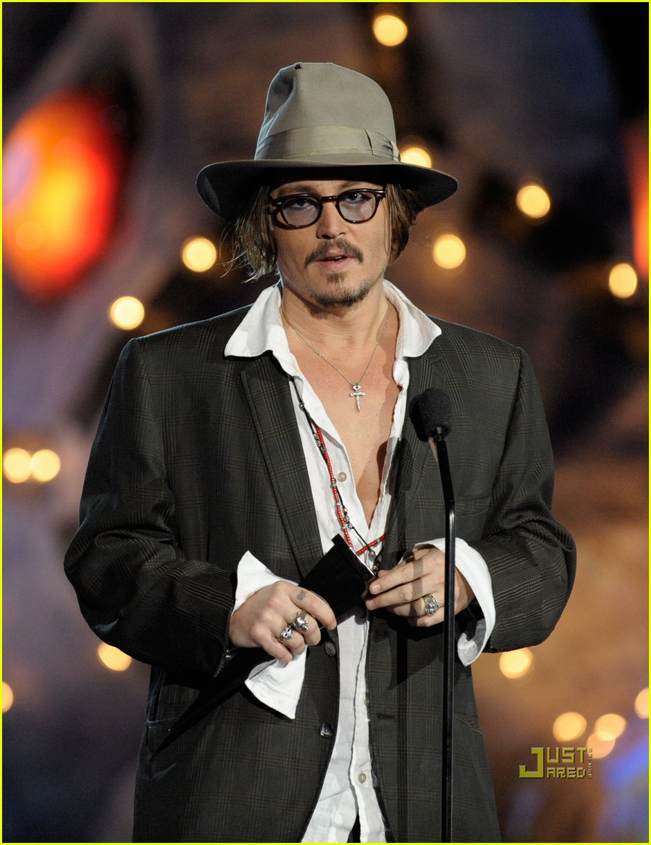 johnny depp keith richards rock immortal scream awards 01