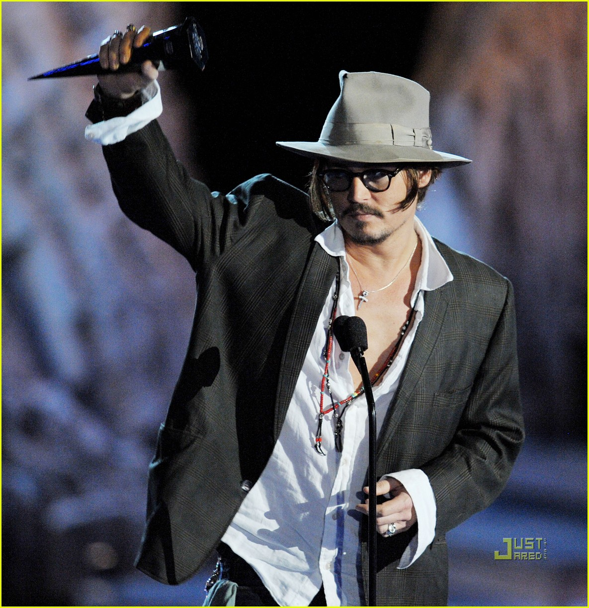 johnny depp keith richards rock immortal scream awards 052295062