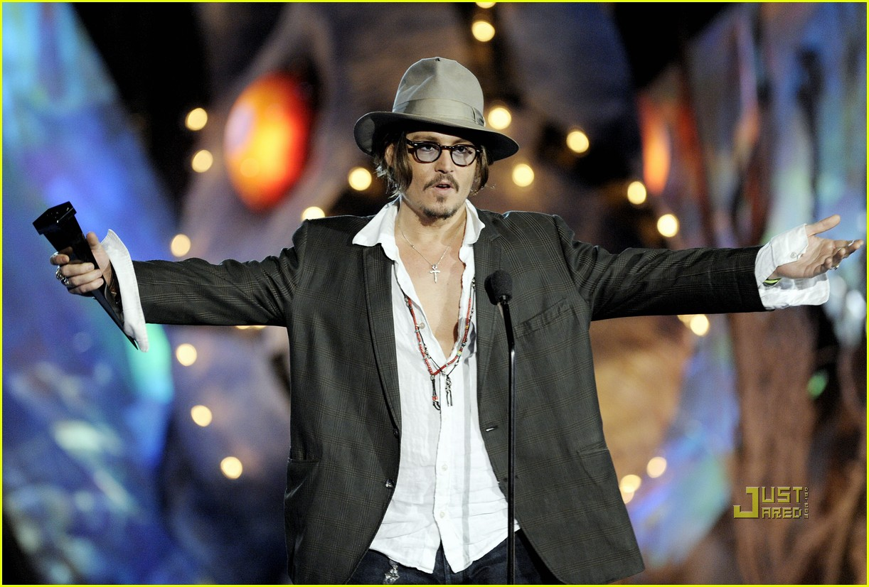 johnny depp keith richards rock immortal scream awards 222295232