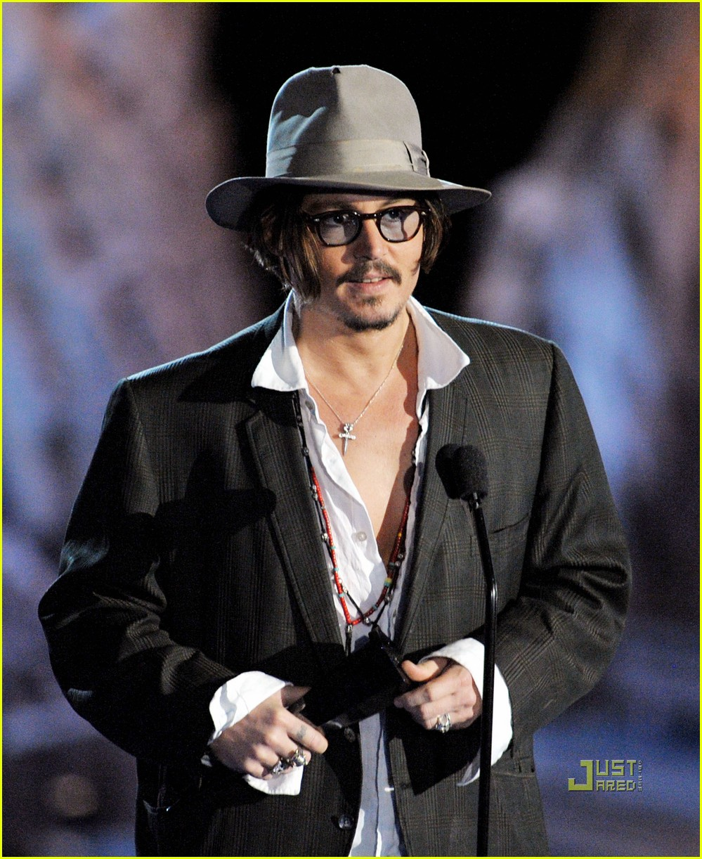 johnny depp keith richards rock immortal scream awards 232295242