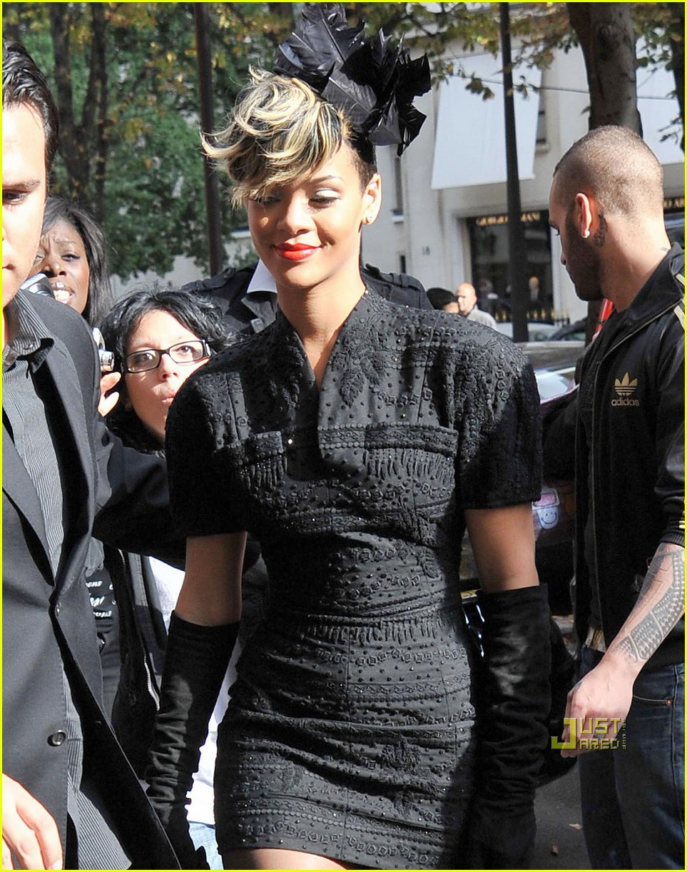 ... Photo of rihanna dior fashion week 02 | Photo 2259471 | Just Jared
