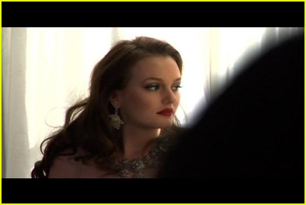 leighton meester somebody to love music video bts 08
