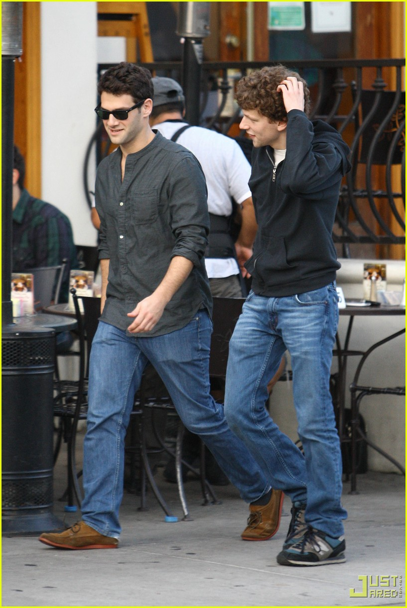 jesse eisenberg justin bartha lunch 132339162