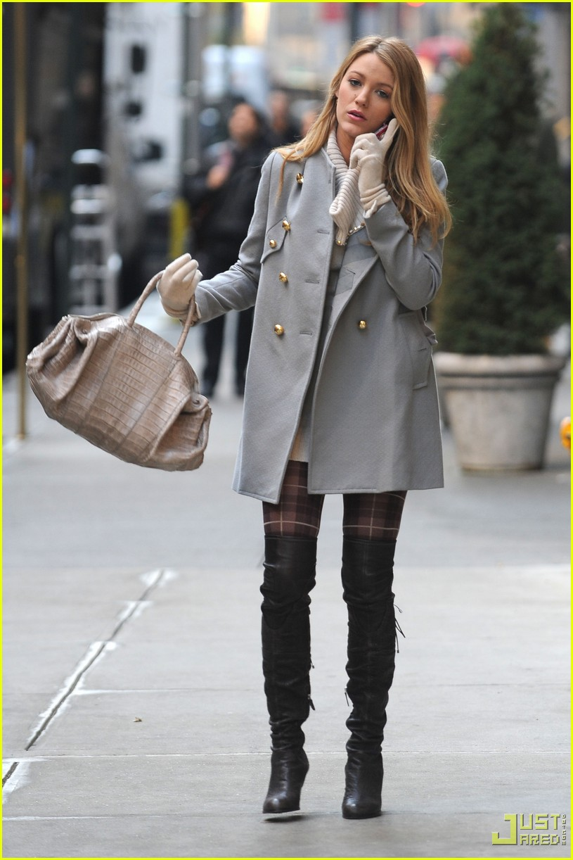 Blake Lively: Gossip Girl Menage a Trois Tonight!: Photo ...