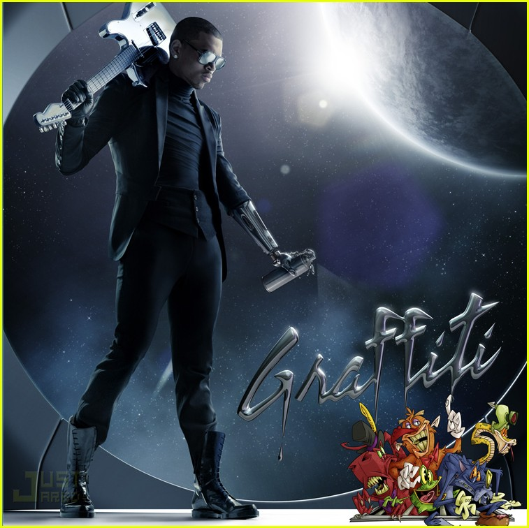 chris brown graffiti album cover 012329072