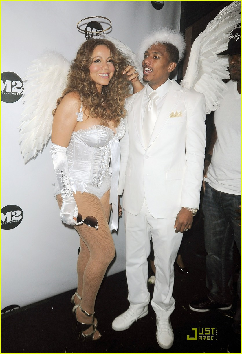 mariah carey nick cannon are angels 022327422