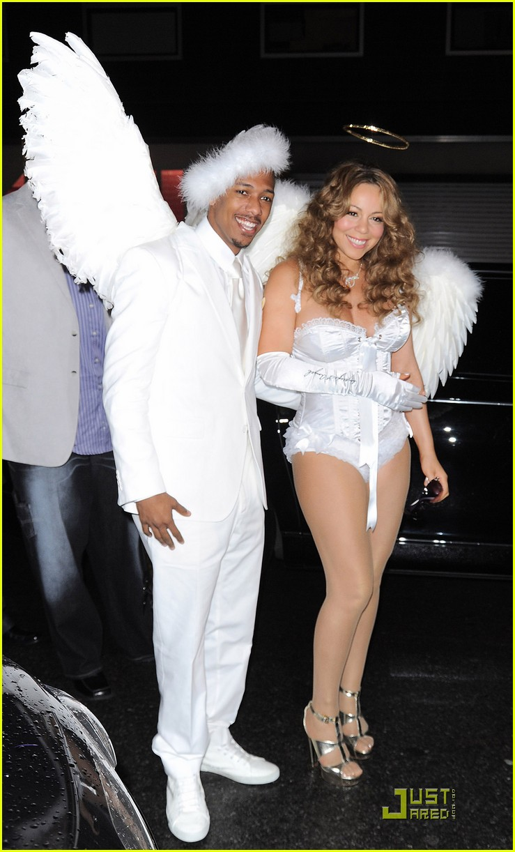 mariah carey nick cannon are angels 08