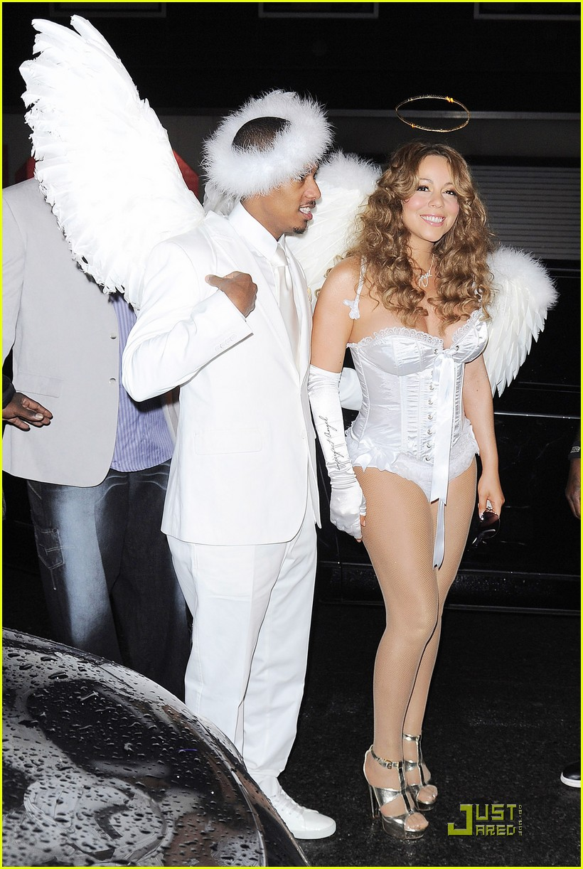 mariah carey nick cannon are angels 12