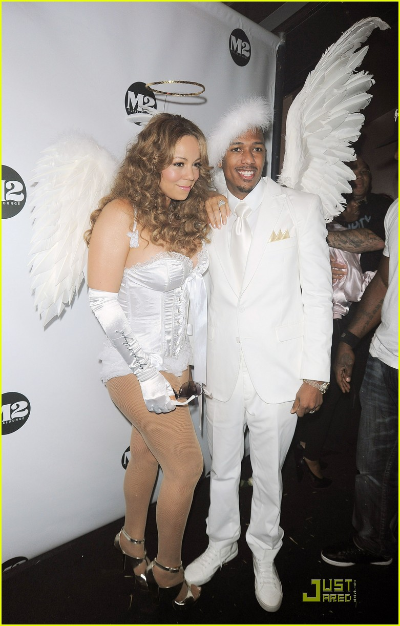 mariah carey nick cannon are angels 13