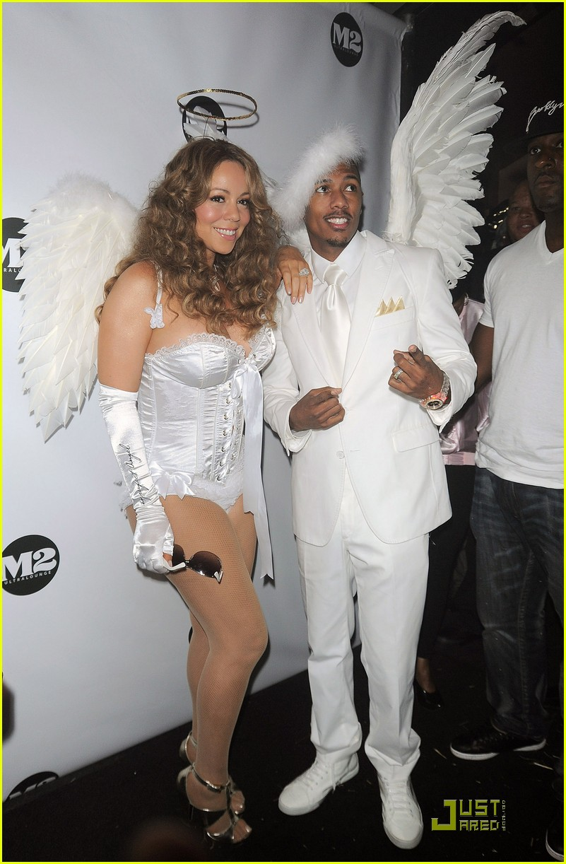 mariah carey nick cannon are angels 15