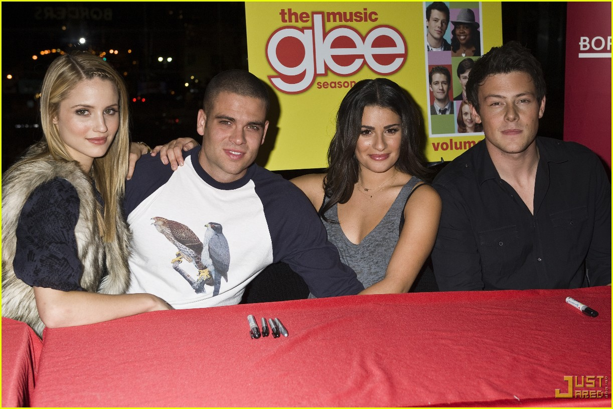 glee cast autograph signings 052337352