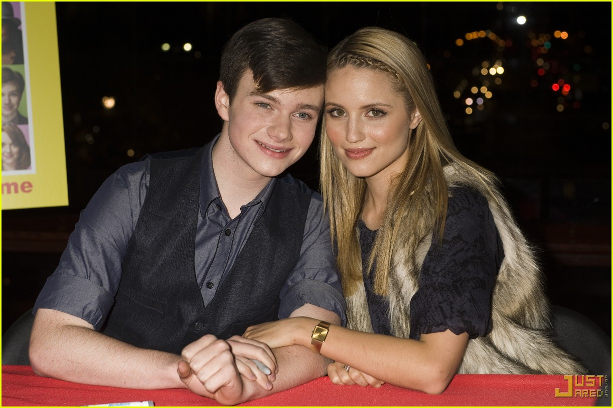 glee cast autograph signings 072337372