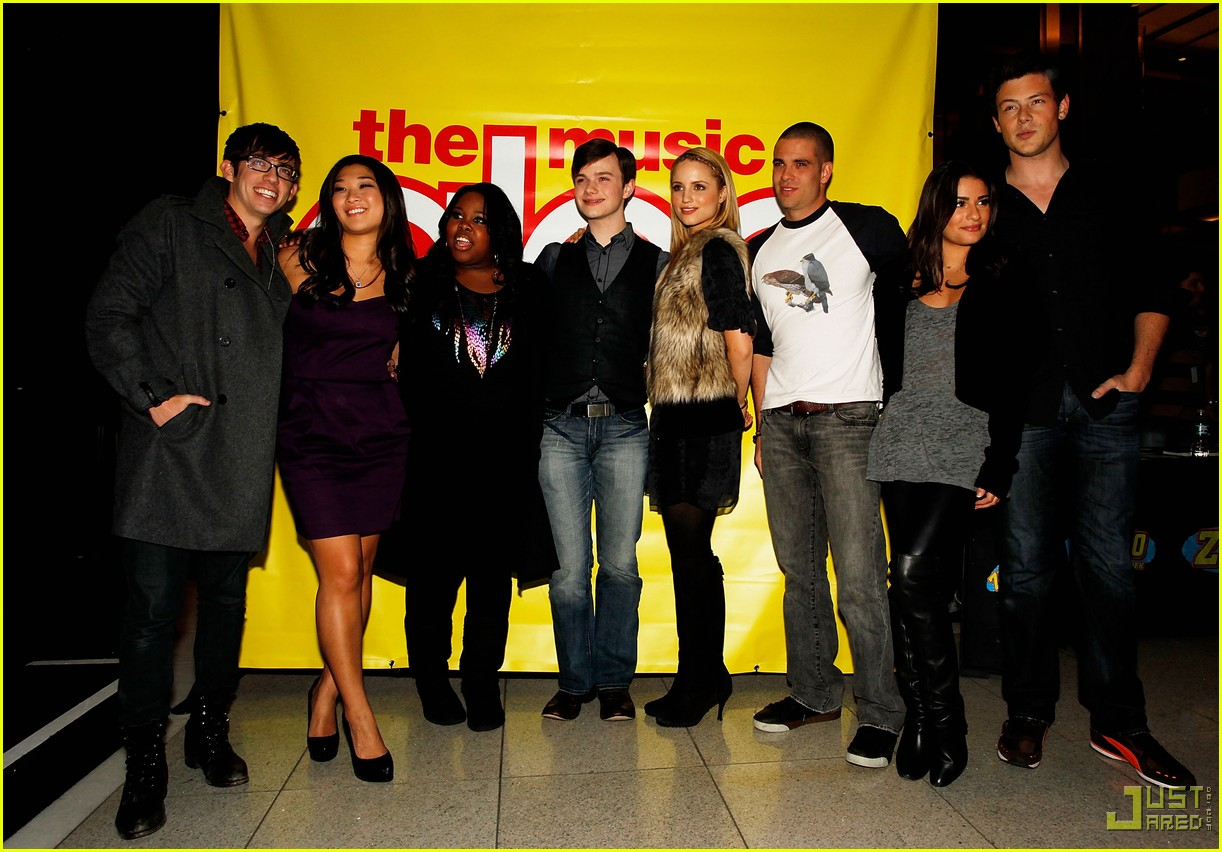 glee cast autograph signings 232337532