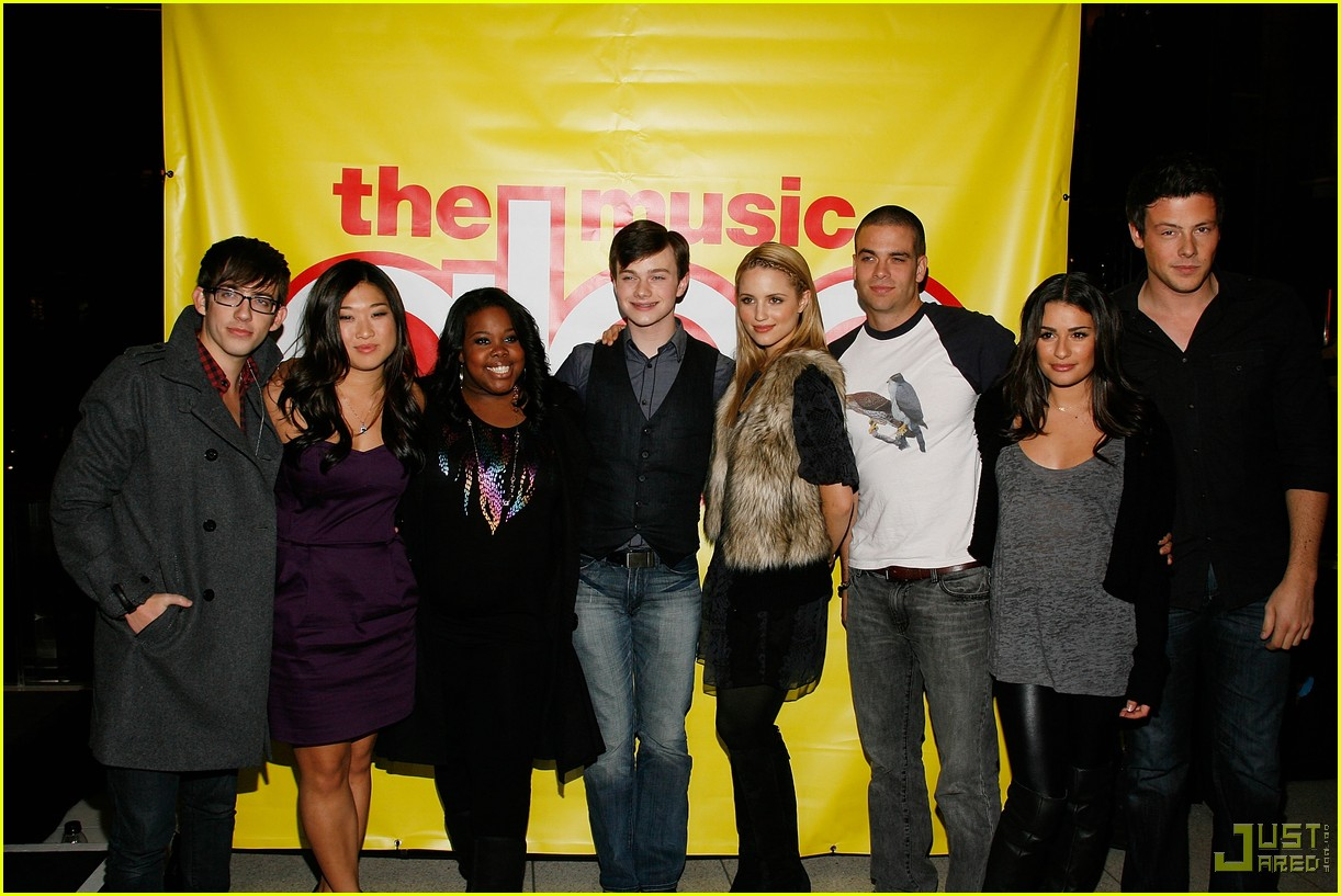 glee cast autograph signings 252337552