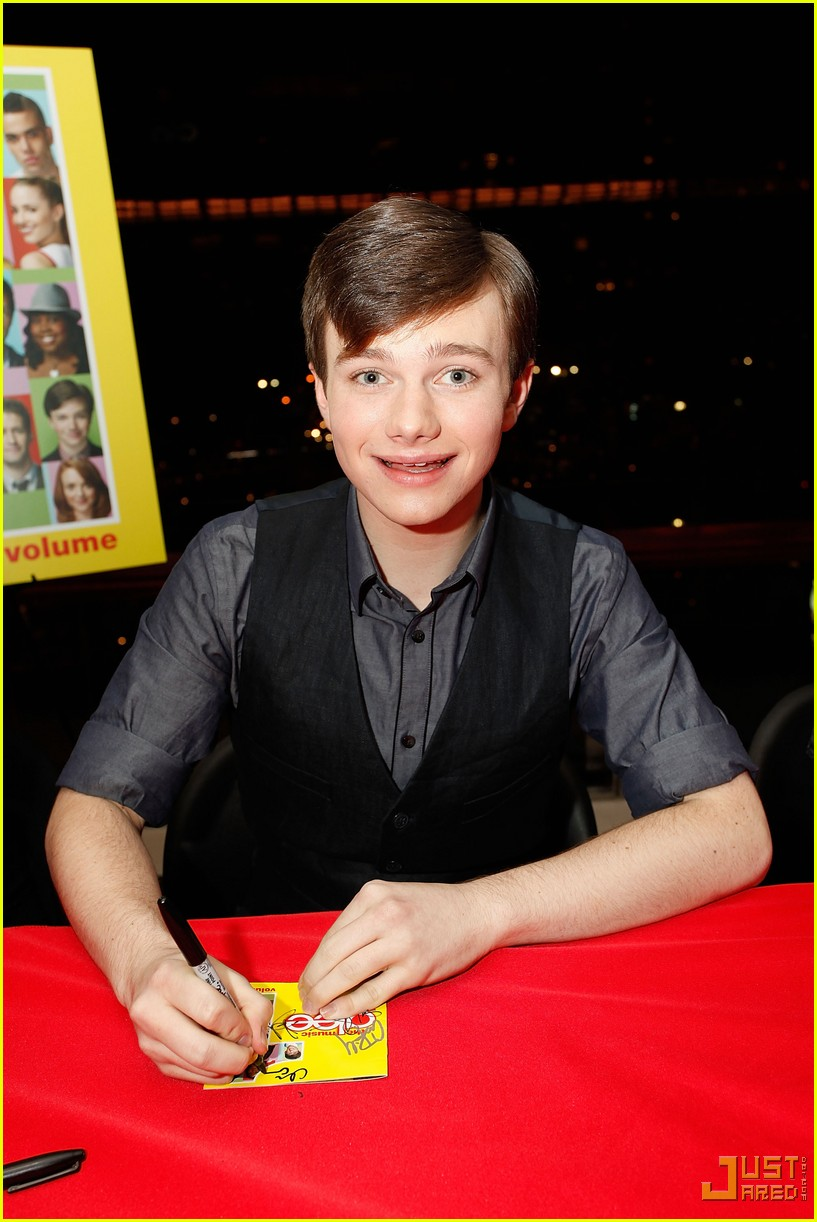 glee cast autograph signings 262337562