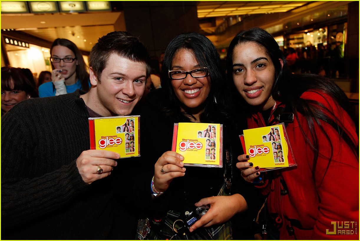 glee cast autograph signings 302337602