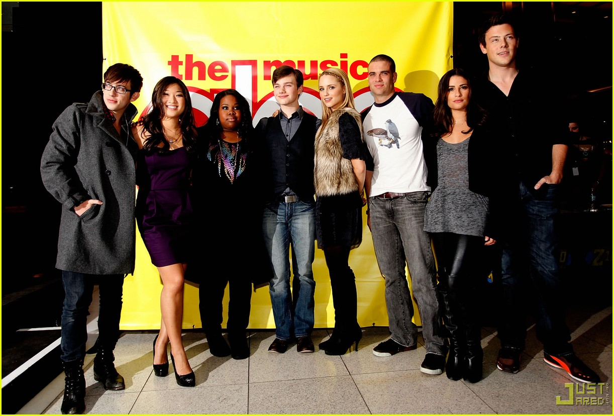 glee cast autograph signings 312337612