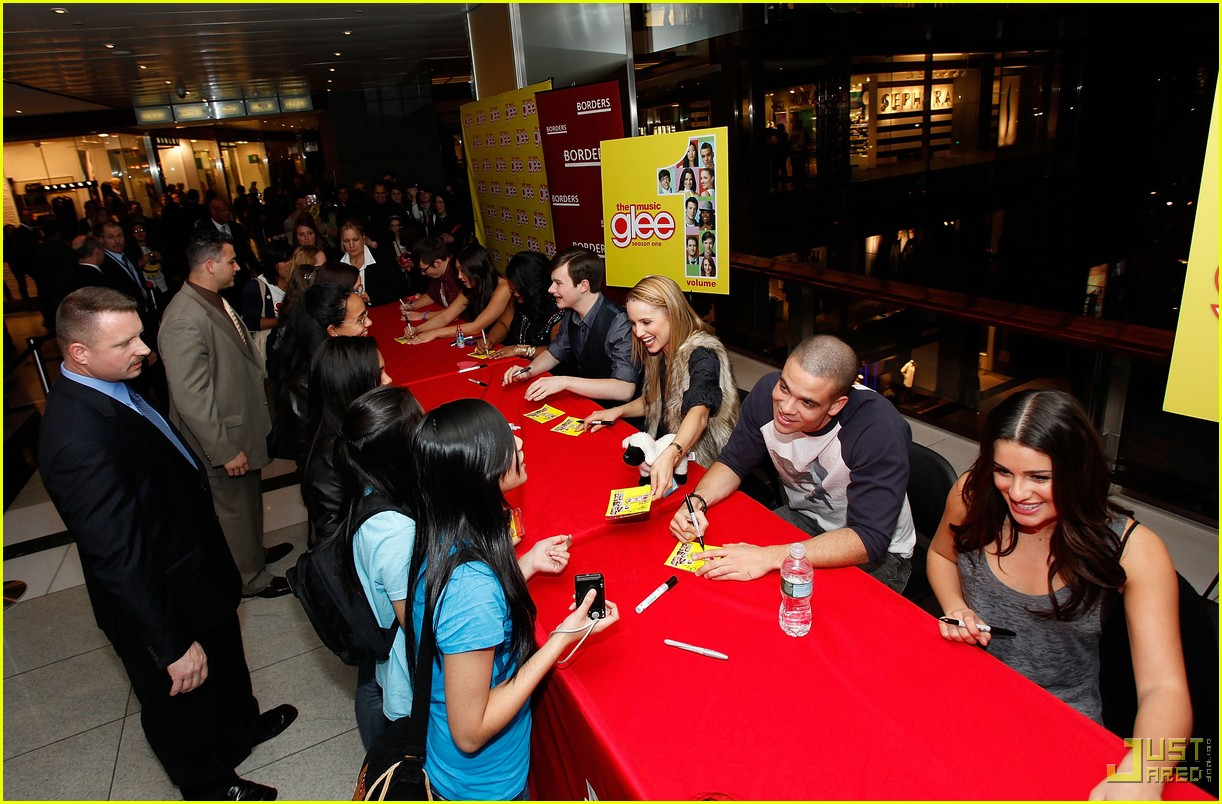 glee cast autograph signings 362337662