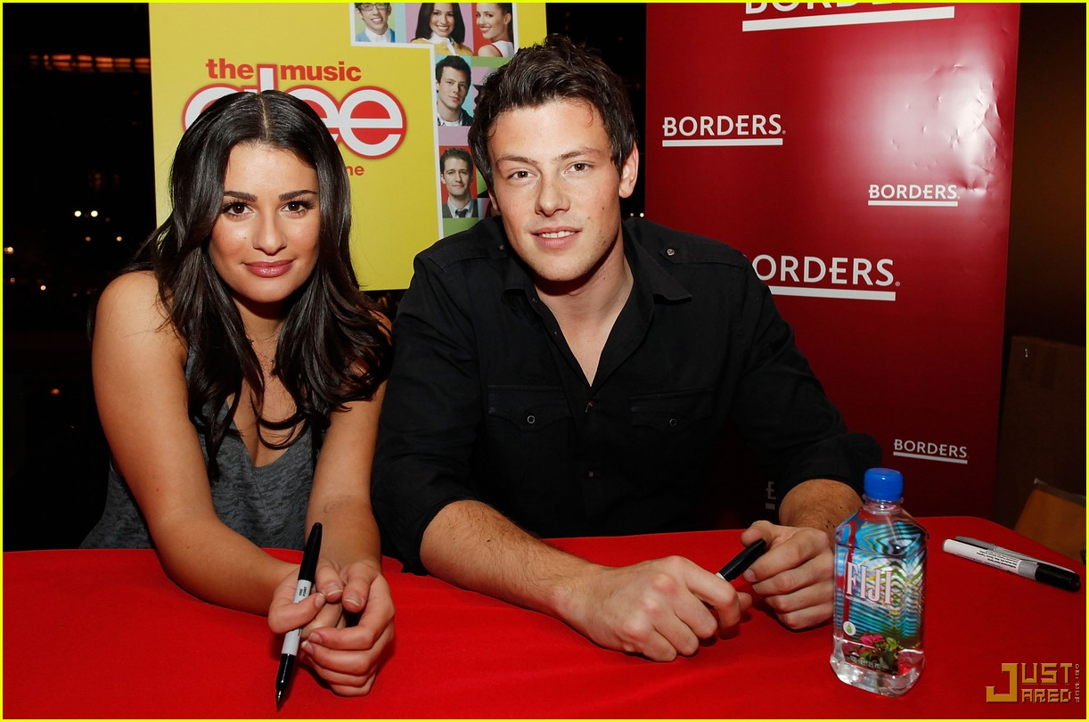 glee cast autograph signings 422337722