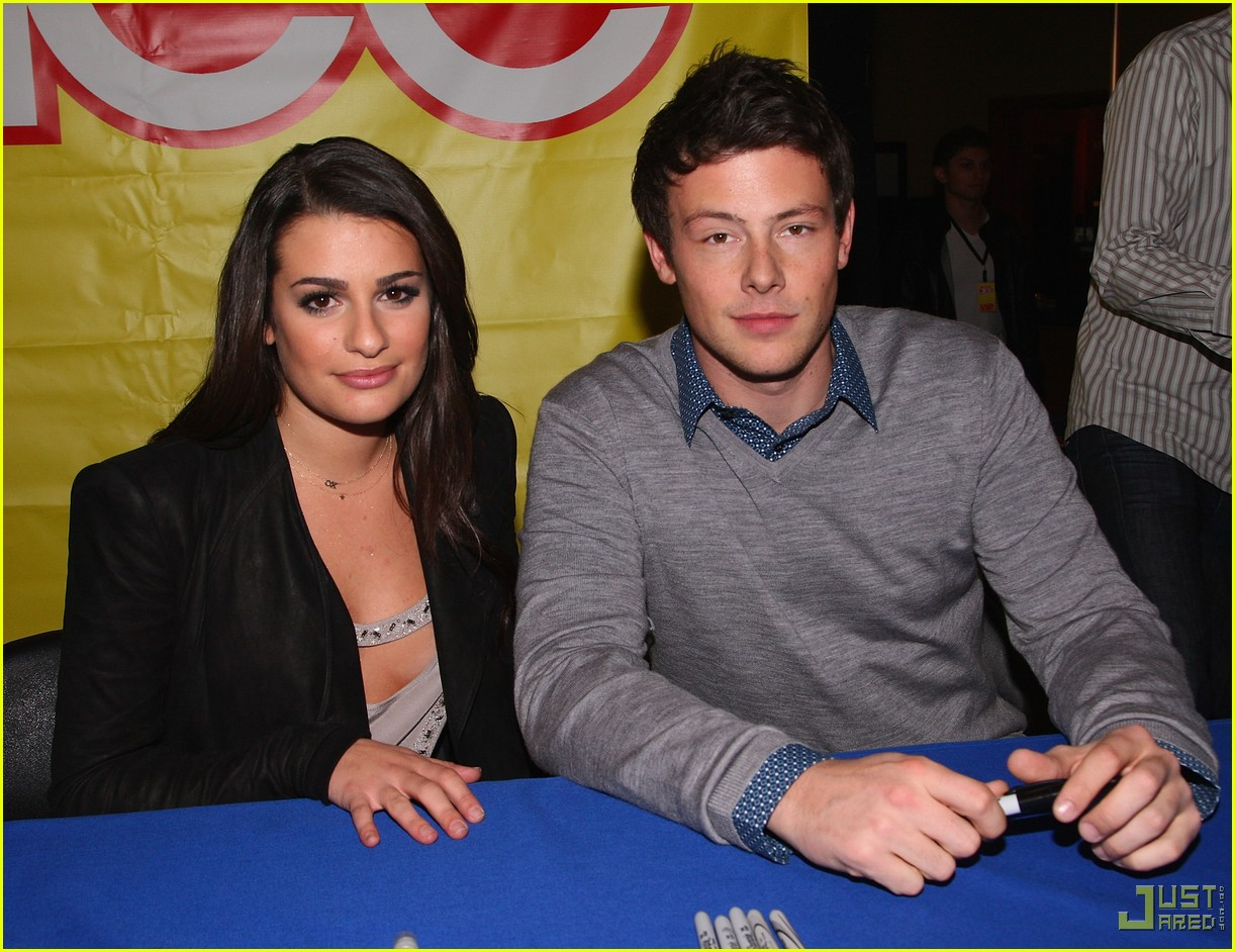 glee cast autograph signings 522337822