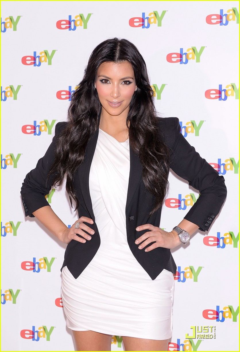 kim kardashian is excited about ebay 062370201