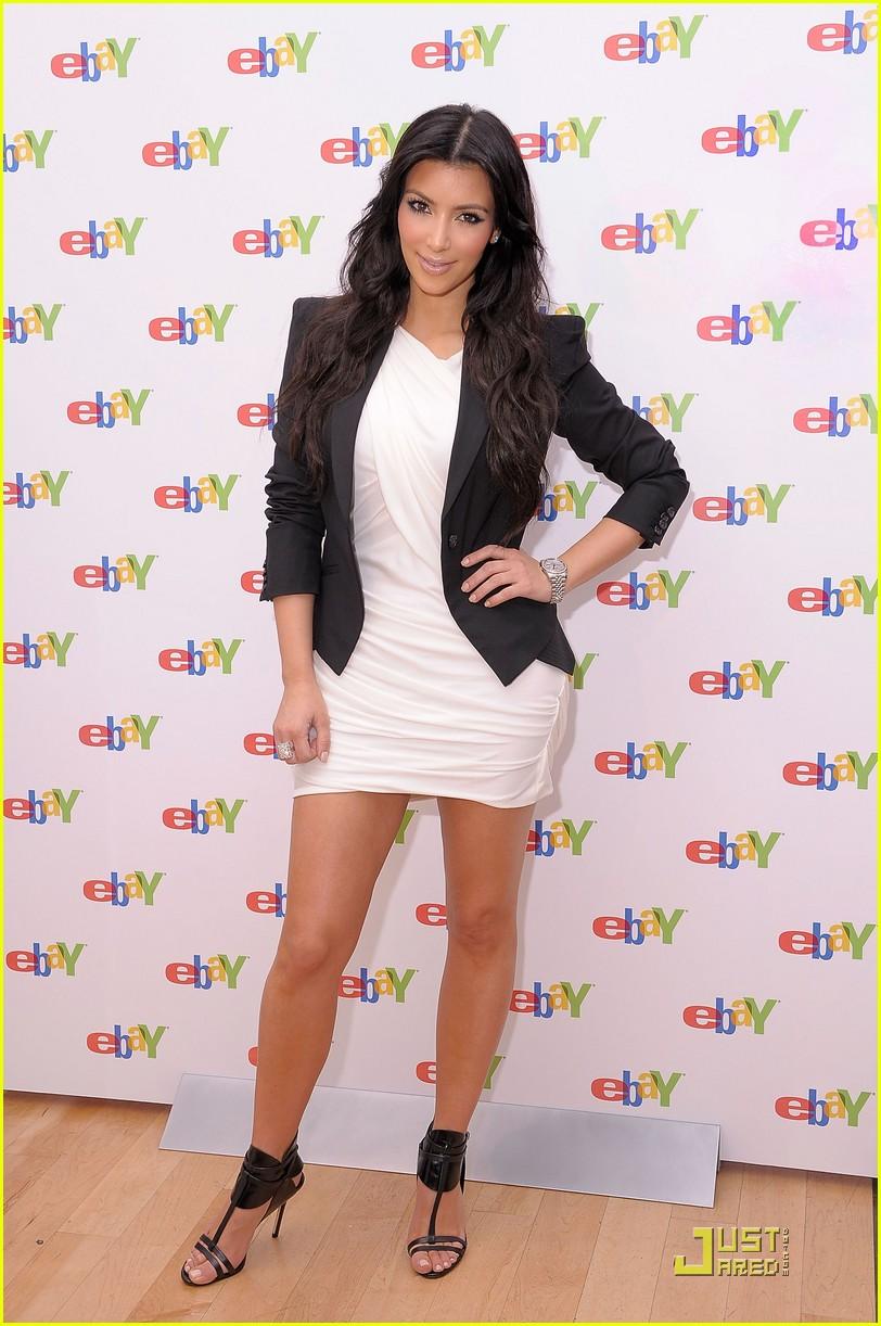 kim kardashian is excited about ebay 082370221