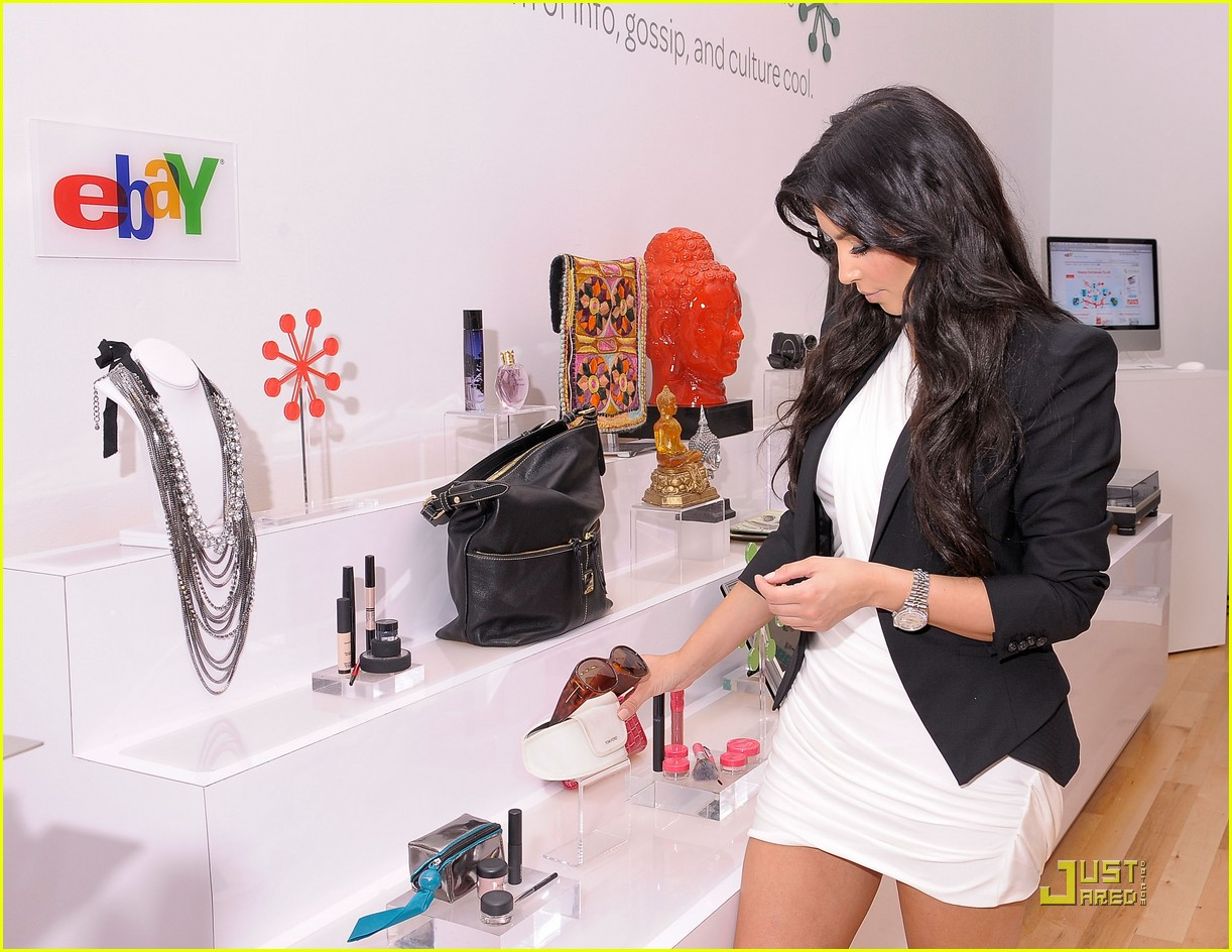 kim kardashian is excited about ebay 122370261