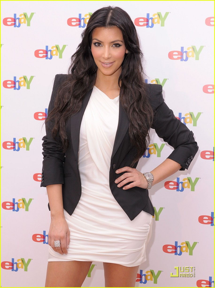 kim kardashian is excited about ebay 182370321