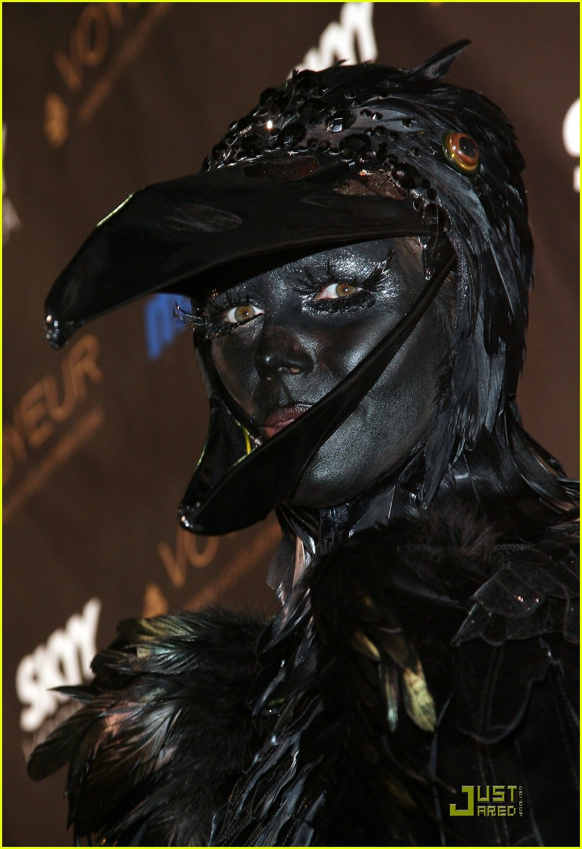 heidi klum seal black crows 04