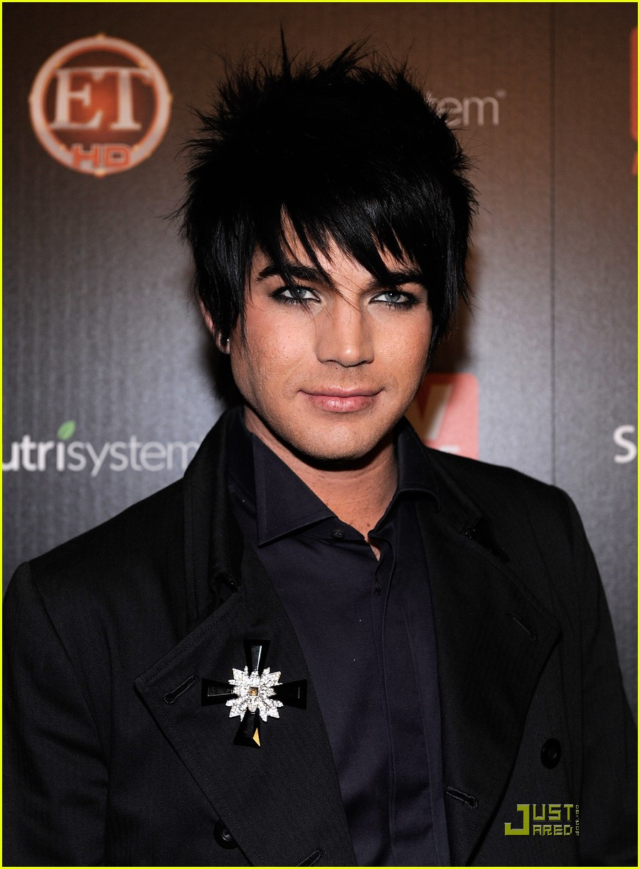 adam lambert tv guide hot list party 02