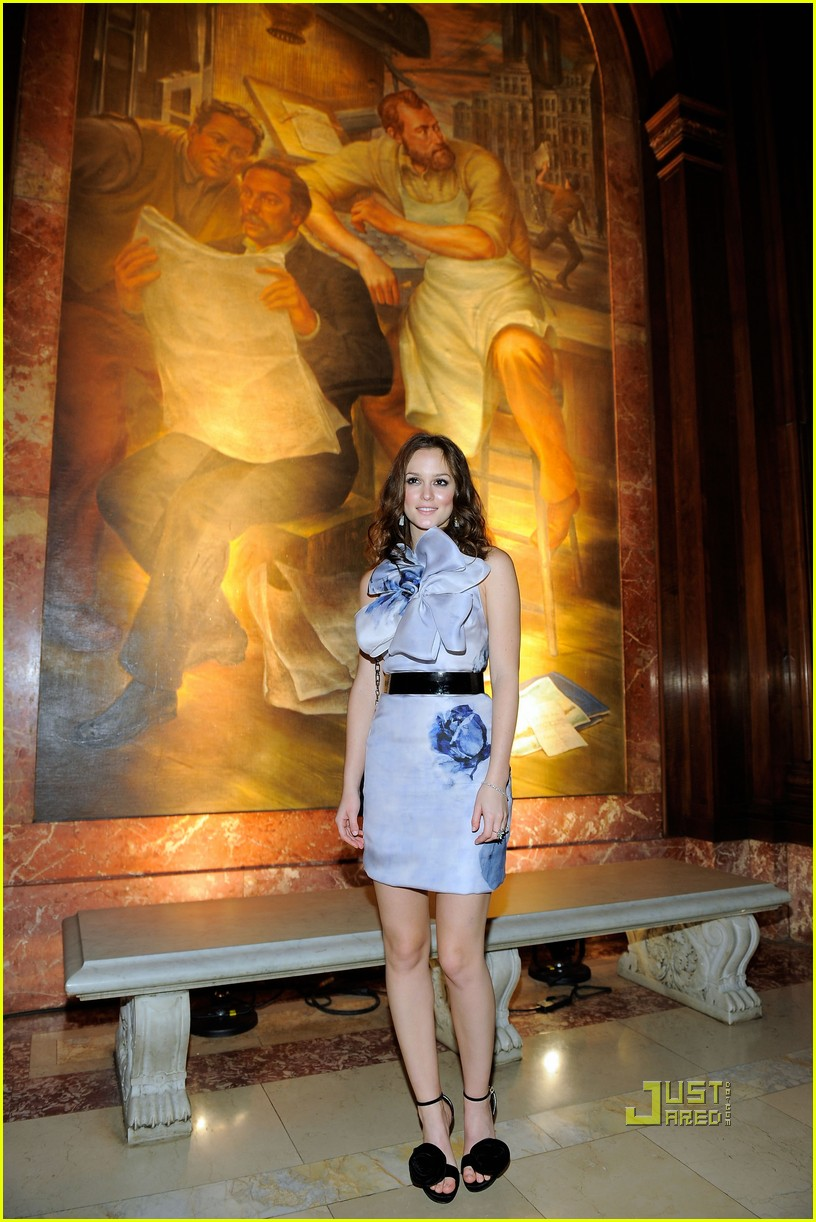 leighton meester rosette dress 032329161