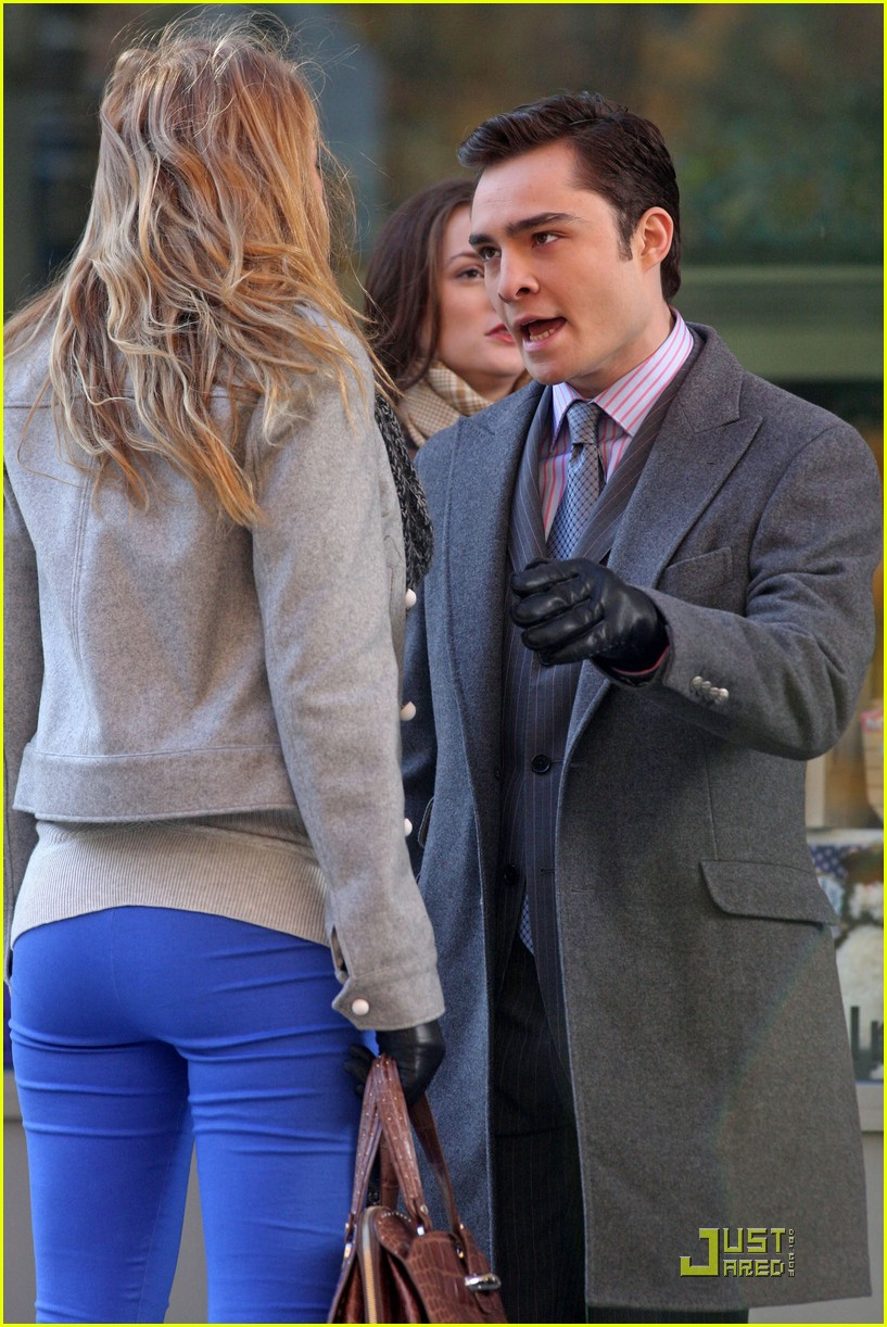 blake lively blue leggings lovely 15