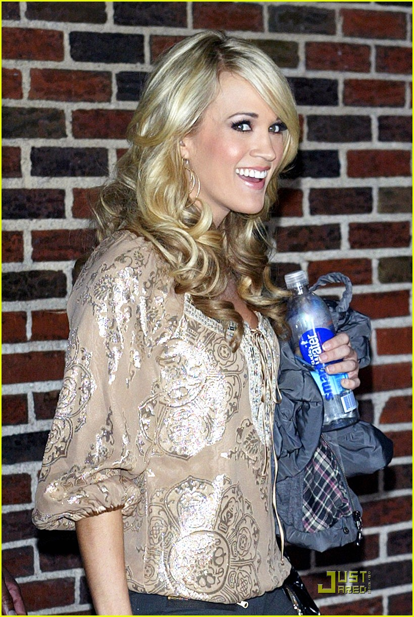 carrie underwood visits the late show 052329522