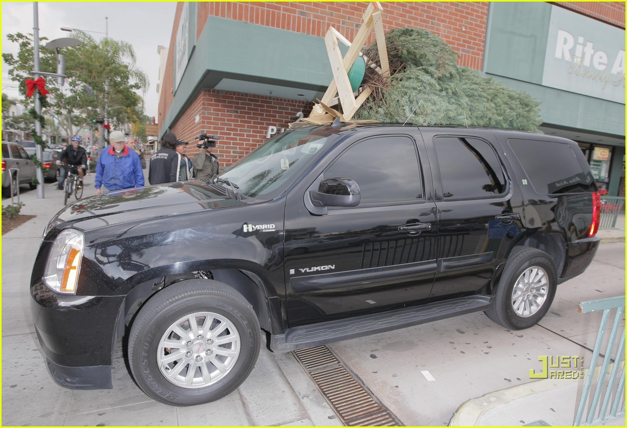 jessica alba christmas tree shopping 13