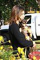 elisabetta canalis adopts a dog 07