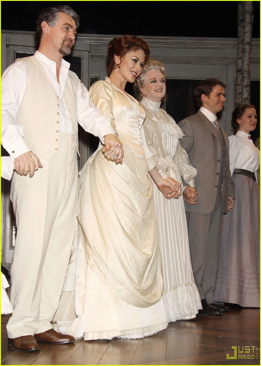 catherine zeta jones a little night music curtain call 05